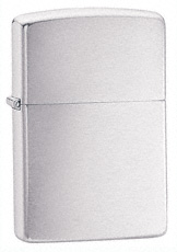 Chrome Zippo Lighter 250 - Regular chrome Zippo lighter comes in a brushed or high polish finish.