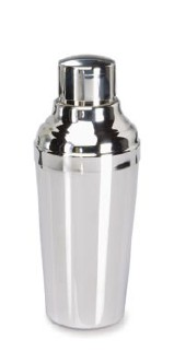 Couzon 741321 - Stainless steel bright finish cocktail shaker