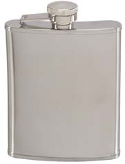 Flask F195 - 6 oz. Stainless Steel Flask