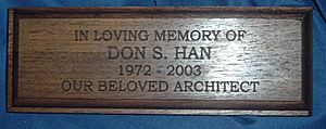Custom Wood Plaques - We custom cut wood plaques.  Engraving can be directly on the wood or on a brass plate attached to the wood.